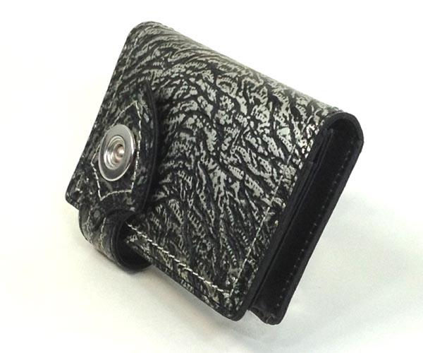 uffda freak(ウフダフリーク) T-rexシリーズ(牛革) 名刺・カード入(チェーンなし) UD-A-M01 カラー:ブラック