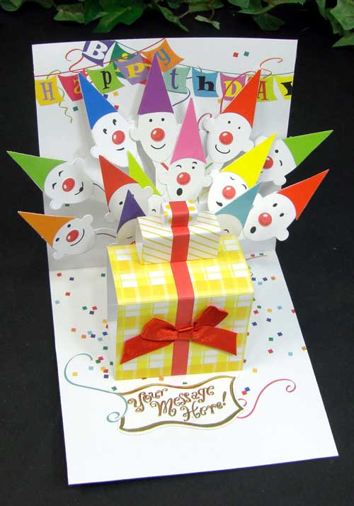 Ashiya HoriManshodo – Happy Birthday Pop Up Cards