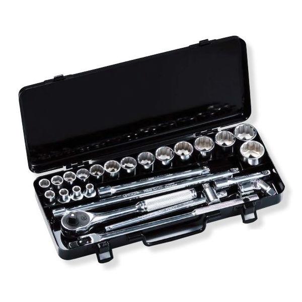 スーパーツール N318S ソケットレンチセット 差込角9.5mm (3/8)