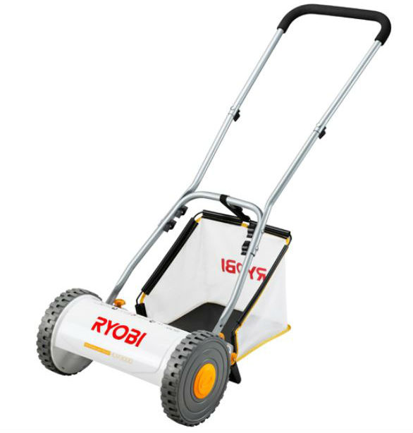 電源の無い場所でも使える RYOBI 品質検査済 リョービ いつでも芝刈 HLM-3000 手動式芝刈機 電気いらず 期間限定送料無料