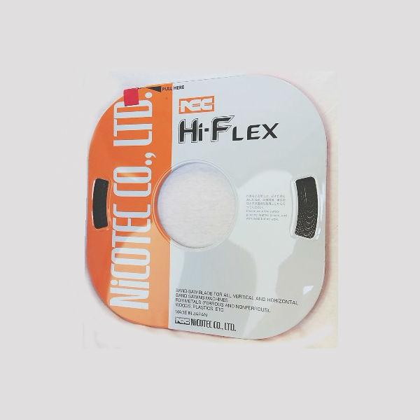 ハイフレックス コンターマシン用替刃 鉄 アルミ ニコテック ハイフレ ブレード コンターマシン用替刃 ニコテック HF 8X8X0.64