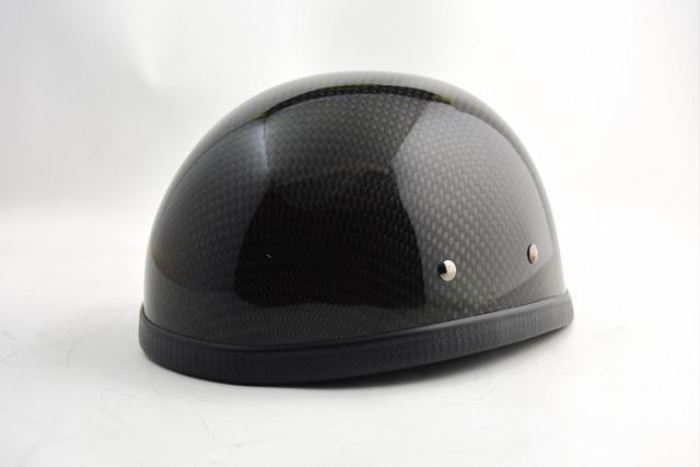 (送料無料)EAGLE HALF HELMET/イーグルハーフヘルメット/CARBON FIBERカーボンファイバー(検索ワード)装飾用ダックテール・アウトロー・アメリカン・USAノベルティー・バイク・バイカー・ハンボウ・半帽・半ヘル