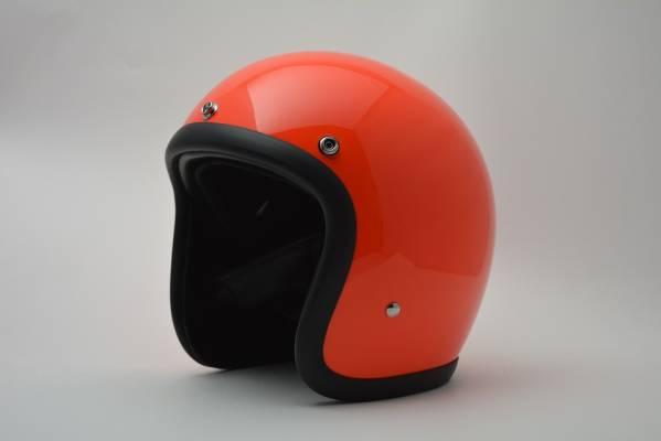 BICYCLE HELMET/HORIZON/TIGHT SMALL JET /500-TX/タイトスモールジェットヘルメット/オレンジ/検索ワード(装飾用、ビンテージヘルメット、軽量、ハーレー、アメリカン、ストリート)
