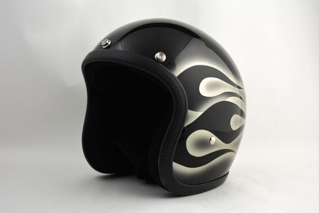 BICYCLE HELMET・HORIZONオリジナル/MINI JET/omj00fgm/検索用ワード(ビンテージヘルメット、軽量、ハーレー、アメリカン、ストリート、ペイントヘルメット、キャンディー、ハンドメイド、エアブラシ、手塗り、カスタムぺイントおしゃれヘルメットノベルティー)