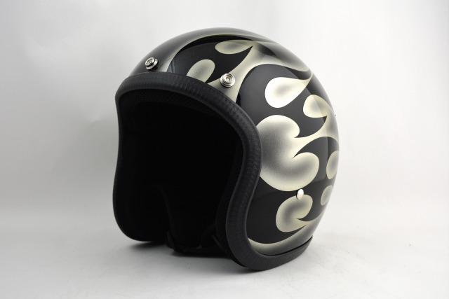 BICYCLE HELMET・HORIZONオリジナル/MINI JET/omjtr02goldcrossg2/検索用ワード(ビンテージヘルメット、軽量、ハーレー、アメリカン、ストリート、ペイントヘルメット、キャンディー、ハンドメイド、エアブラシ、手塗り、カスタムぺイントおしゃれヘルメットノベルティー)