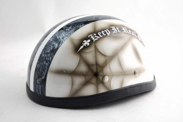 BICYCLE HELMET/EAGLE HALF HELMET/ohe02cspイーグルハーフヘルメット/カスタムペイント(検索ワード)マーブライザーキャンディーハーレーデザインペイントラップ塗装装飾用ダックテールアウトローアメリカンUSAノベルティーバイクバイカー半ヘル