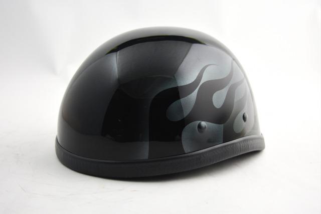 BICYCLE HELMET/EAGLE HALF HELMET/ohe00wfblackmイーグルハーフヘルメット/カスタムペイント(検索ワード)マーブライザーキャンディーハーレーデザインペイントラップ塗装装飾用ダックテールアウトローアメリカンUSAノベルティーバイクバイカー半ヘル