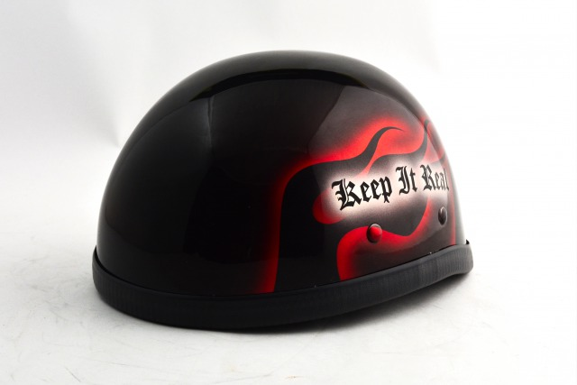 BICYCLE HELMET/EAGLE HALF HELMET/ohe02frイーグルハーフヘルメット/カスタムペイント(検索ワード)マーブライザーキャンディーハーレーデザインペイントラップ塗装装飾用ダックテールアウトローアメリカンUSAノベルティーバイクバイカー半ヘル