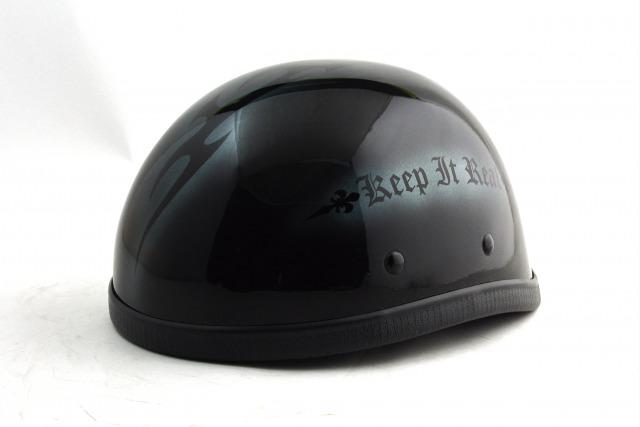 BICYCLE HELMET/EAGLE HALF HELMET/ohe02t2blackmイーグルハーフヘルメット/カスタムペイント(検索ワード)手塗りハンドメイドキャンディーペイントラメフレークおしゃれ軽量アウトロー装飾用ホライズン