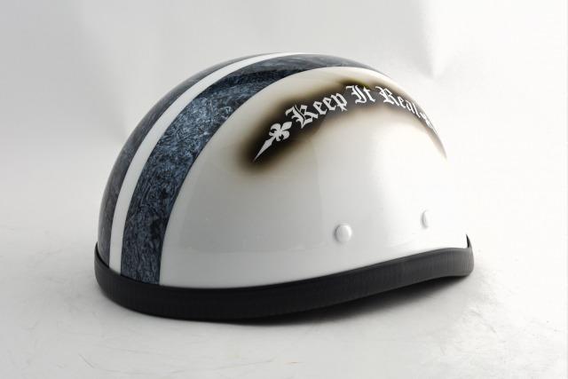 BICYCLE HELMET/EAGLE HALF HELMET/ohe02swイーグルハーフヘルメット/カスタムペイント(検索ワード)マーブライザーキャンディーハーレーデザインペイントラップ塗装装飾用ダックテールアウトローアメリカンUSAノベルティーバイクバイカー半ヘル