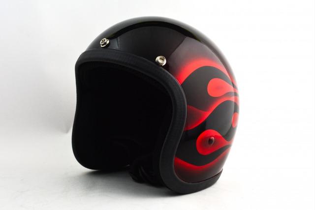 BICYCLE HELMET・HORIZONオリジナル/MINI JET/omj00frm/検索用ワード(ビンテージヘルメット、軽量、ハーレー、アメリカン、ストリート、ペイントヘルメット、キャンディー、ハンドメイド、エアブラシ、手塗り、カスタムぺイントおしゃれヘルメットノベルティー)