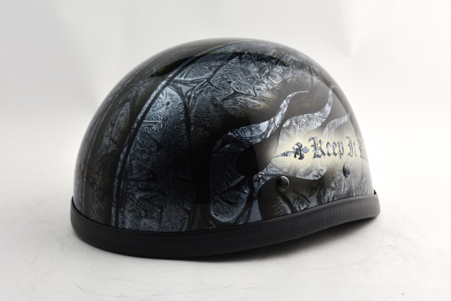 BICYCLE HELMET/EAGLE HALF HELMET/ohe02bfsイーグルハーフヘルメット/カスタムペイント(検索ワード)マーブライザーキャンディーハーレーデザインペイントラップ塗装装飾用ダックテールアウトローアメリカンUSAノベルティーバイクバイカー半ヘル