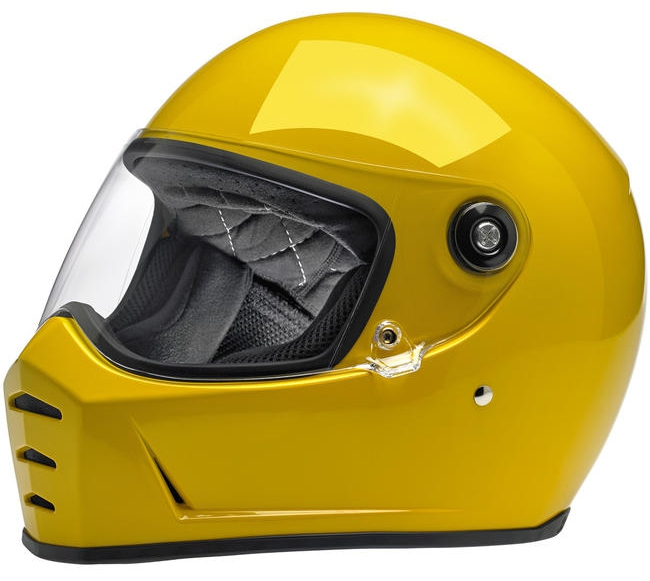 BICYCLE HELMET/Biltwell/ビルトウェル LANE SPLITTER HELMET GLOSS SAFE-T YELLOW/グロスセーフティーイエロー