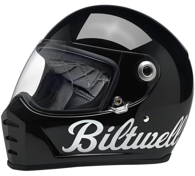 BICYCLE HELMET/Biltwell/ビルトウェル LANE SPLITTER HELMET/ GLOSS BLACK FACTORY グロスブラックファクトリー
