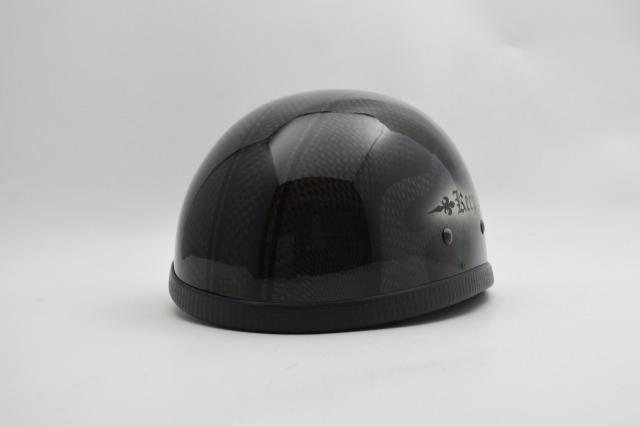 (受注生産)自転車用・BICYCLE HELMET/EAGLE HALF HELMET/ohecarfrmイーグルハーフヘルメット・カーボン/カスタムペイント(検索ワード)マーブライザーキャンディーハーレーデザインペイントラップ塗装装飾用ダックテールアウトローアメリカンUSA