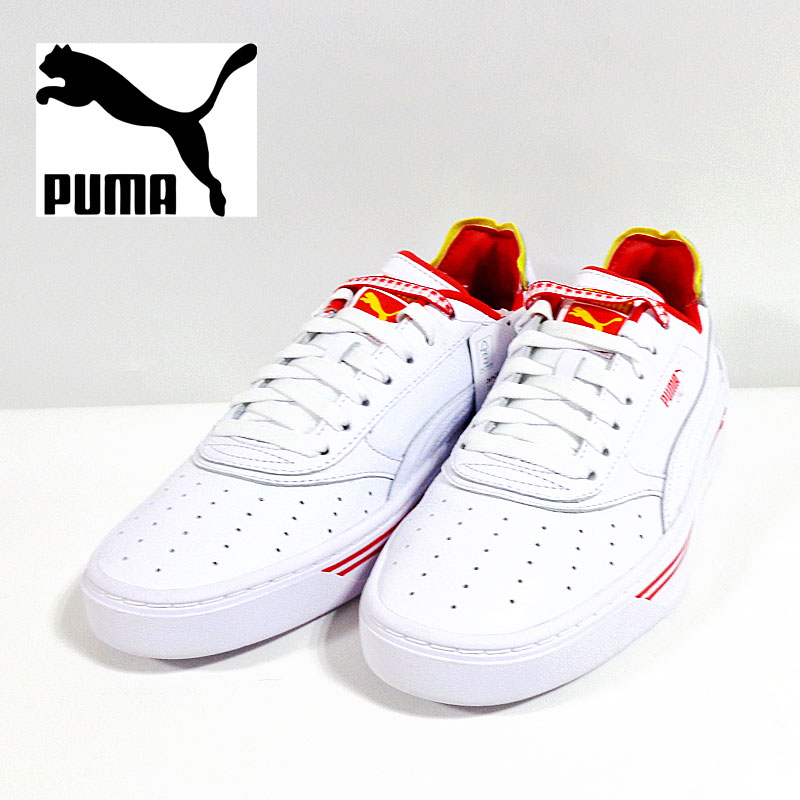 PUMA プーマ CALI-0 DRIVE THRU CC PUMA WHITE-BL 369472-01