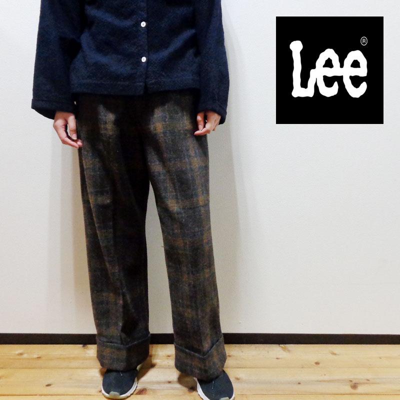 (SALE)LEE リー チェックトラウザーパンツ (ll6014)