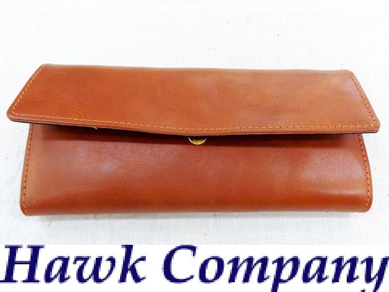 h.k.c(ホークカンパニー) レザー 二つ折り 長財布【3411】