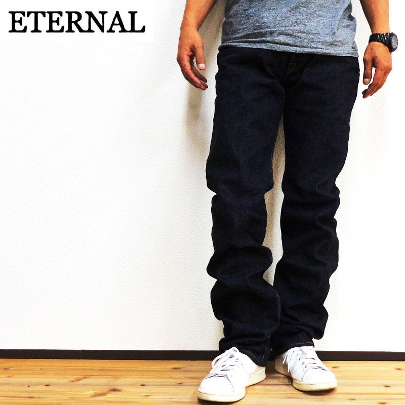 ETERNAL エターナル ワンウォッシュストレートジーンズ (811)送料無料/日本製