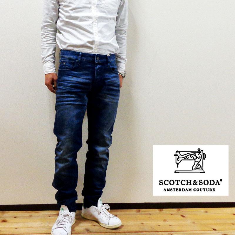 【国内正規品】SCOTCH & SODA 『スコッチ・アンド・ソーダ』RALSTON DENIM PANTS [282-11550]