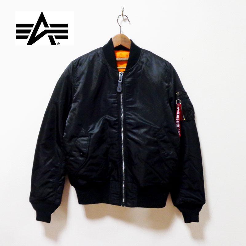 ALPHA アルファ MA-1 TIGHT フライトジャケット【20004-201】BLACK