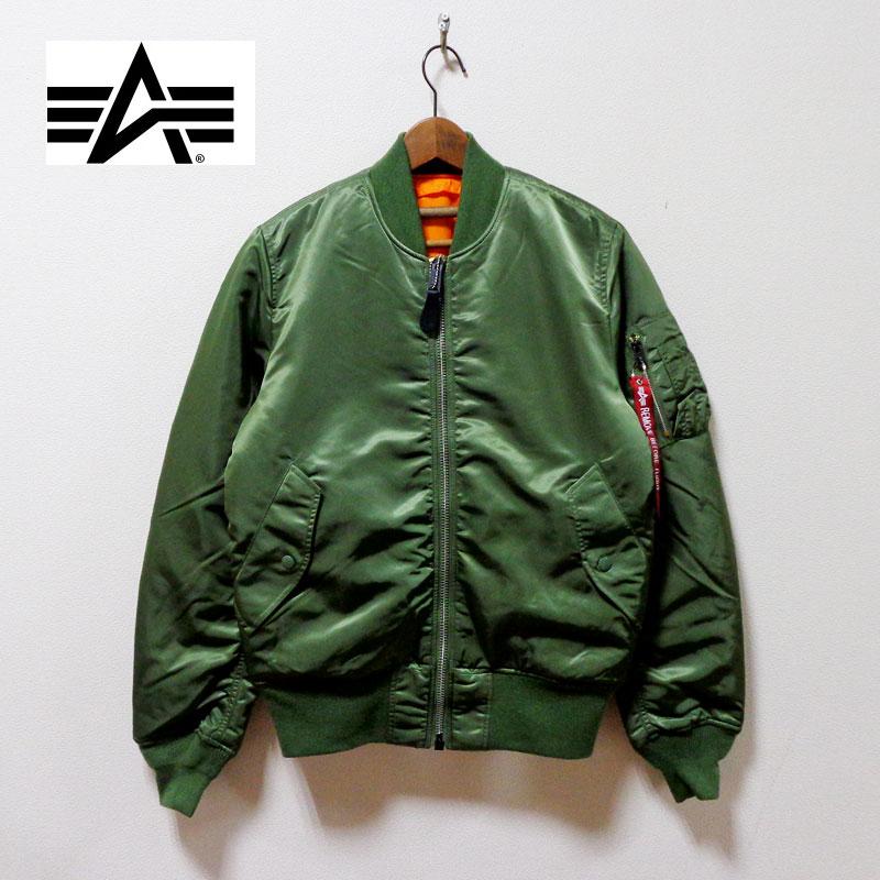 ALPHA アルファ MA-1 TIGHT GREEN フライトジャケット 限定価格セール 20004-203 VINTAGE 返品送料無料