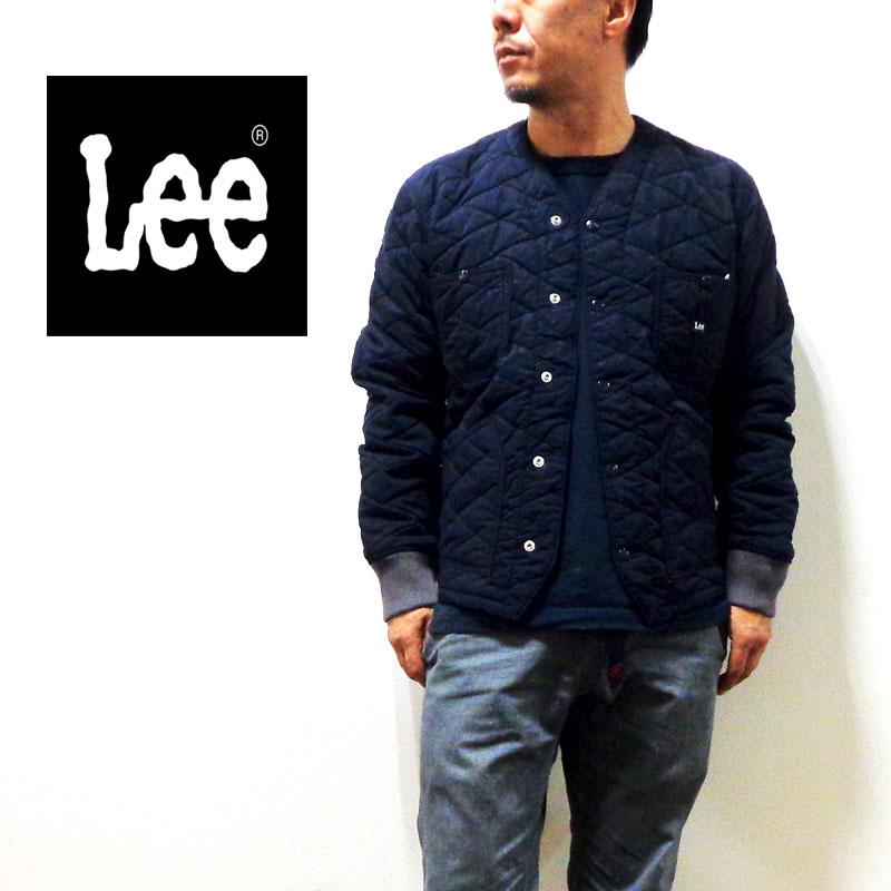 【送料無料】Lee リー ENGINEER JACKET エンジニアジャケット キルティング 80/20クロス ワークジャケット 〔LM4821-104〕