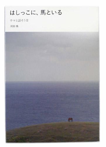 全国どこでも送料無料 ずっと大切に手元に置いておきたい 丁寧につくられた与那国島から風にのって届いた贈り物のような一冊です はしっこに 馬といる ウマと話そうII OUTLET SALE 河田桟 メール便 可 2冊まで 著 ネコポス