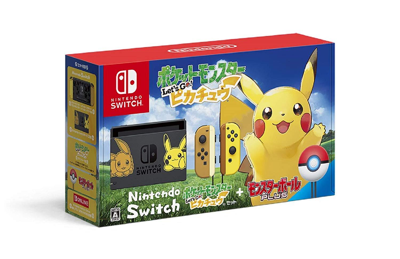 新品 Nintendo Switch ポケットモンスター Let's Go! ピカチュウセット (モンスターボール Plus付き)