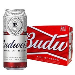 バドワイザー ビール 473ml缶 ラガータイプ アメリカ 473ml×24本