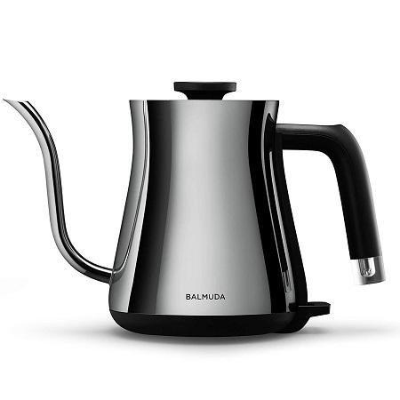 新品 バルミューダ 電気ケトル BALMUDA The Pot K02A-CR クローム