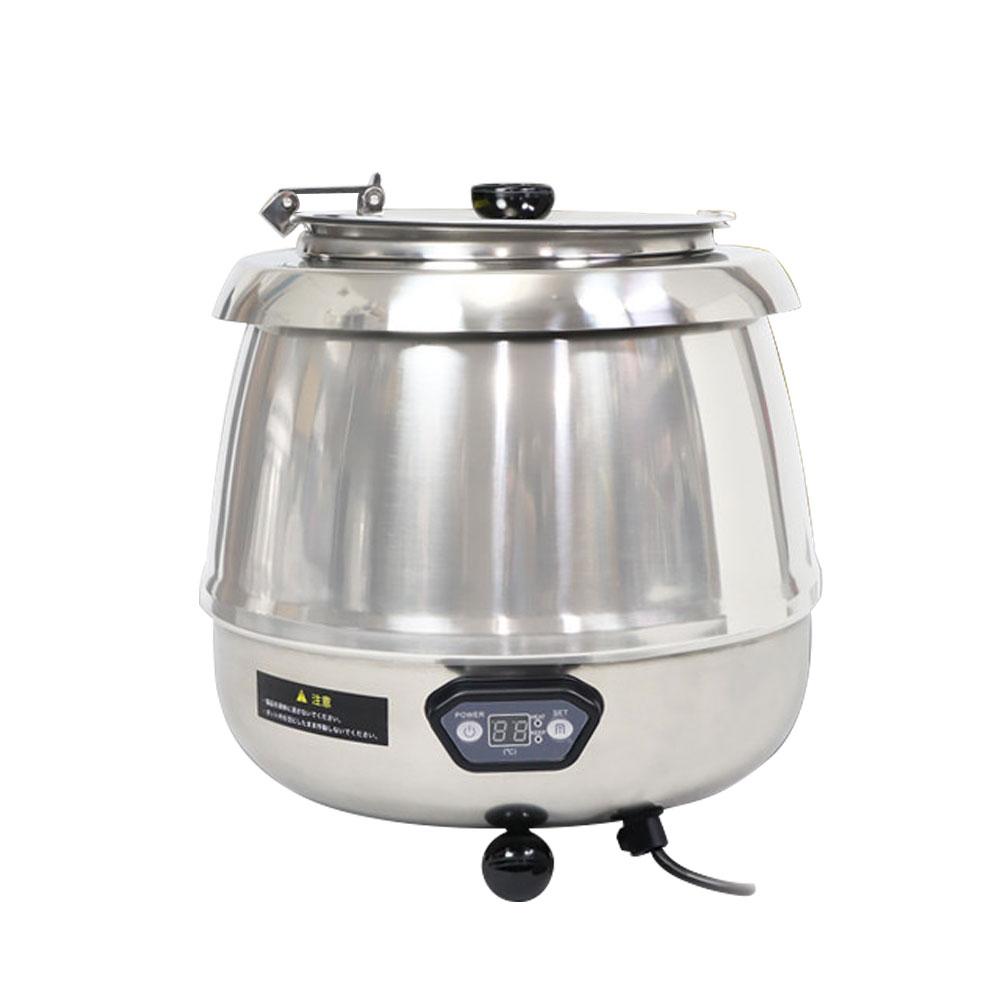 スープジャー 9L 湯煎式 業務用 湯煎器 保温器 保温ジャー スープポット スープウォーマー 卓上ウォーマー ビュッフェ バイキング スープ保温 スープウォーマー ステンレス