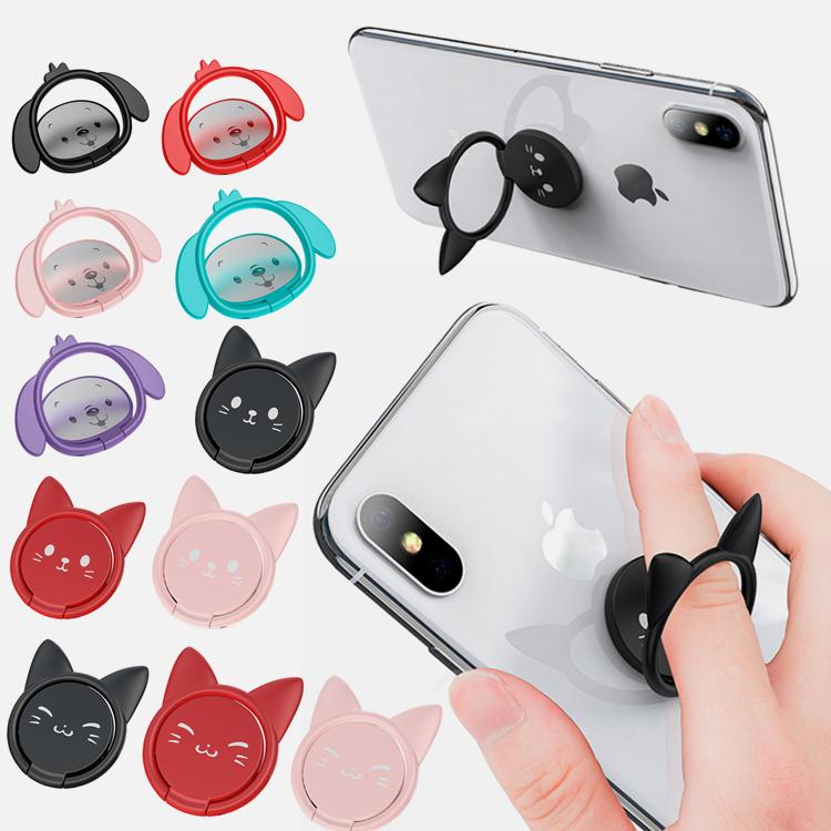 スマホリング 猫 おしゃれ かわいい スマホリング 猫 猫型・犬型・全11種類・全機種対応 好みの角度で保持でき、スタンド機能 スマホリング 猫 犬 おしゃれ かわいい 角度調整 薄型 落下防止 スマホ スマホリング ネコ ねこ いぬ 車載ホルダー マグネット 対応 iPhone android ipad 全機種対応 スマホ スタンド リング かわいい 車 タブレットスタンド 11色種類
