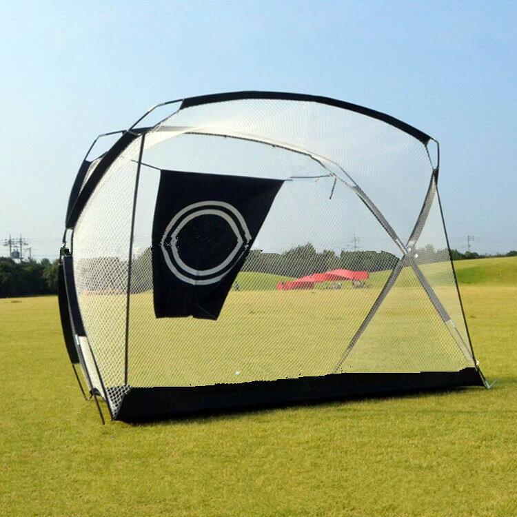 送料無料 ゴルフネット 練習用 自宅 防球ネット ゴルフ練習用ネット 折りたたみ 大型 幅290cm 高さ200cm トレーニング用 収納バッグ付き