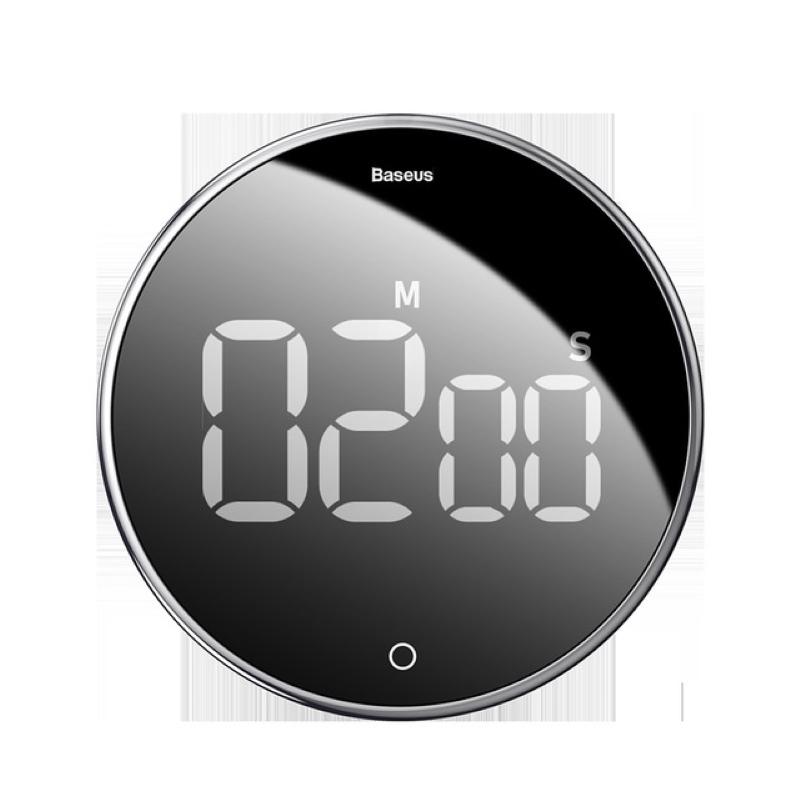 キッチンタイマー お得セット マグネット付 ワンボタン操作デジタル カウントダウンタイマー最大セット99分 高い素材 音量切替機能 タイマー 料理 時間管理 学習用 き