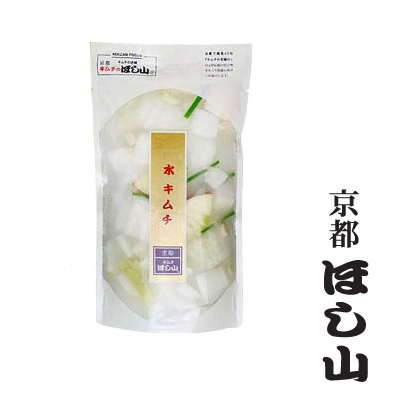 脂っこいものを食べた後がスッキリ 期間限定特価品 汁をゴクゴク飲むキムチ 京都ほし山 松の実入り水キムチ 500g 格安 価格でご提供いたします