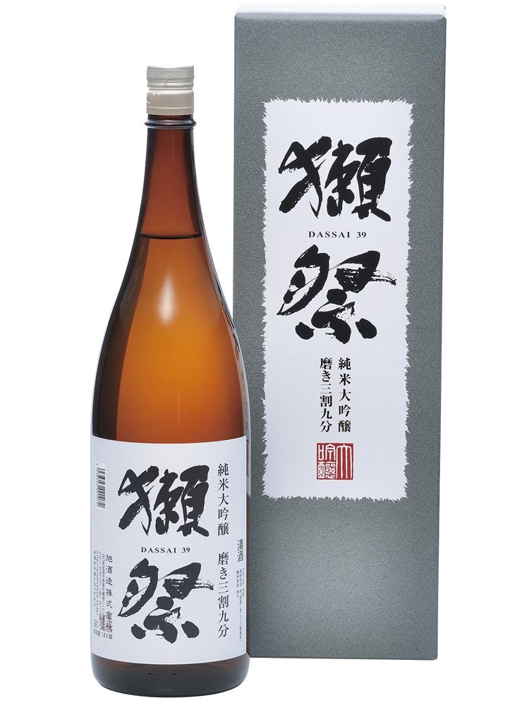 獺祭(だっさい) 純米大吟醸 磨き 三割九分 1800ml DX箱入り 【日本酒 地酒 山口 39 3割9分】