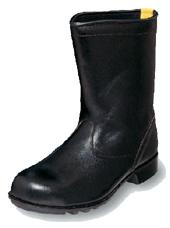 【安い!】安全靴エンゼル商品名【静電半長靴 安全靴 AS311】 先芯-鋼製甲革:牛革クロム靴底:合成ゴム