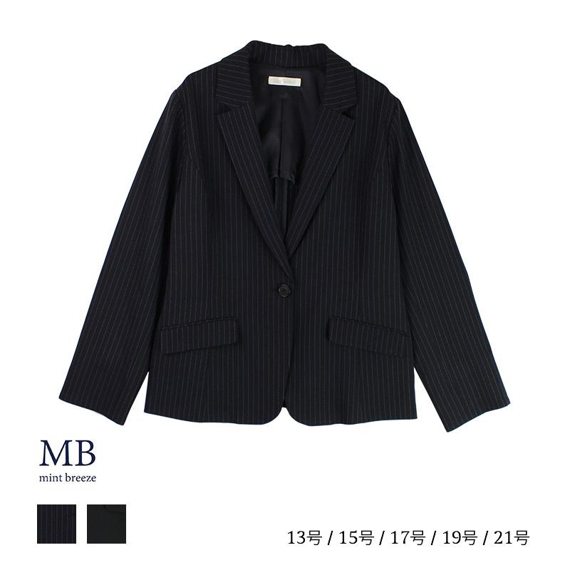 ツイルテーラーJK(P) 大きいサイズ レディース 【MB エムビー】 婦人服 ファッション 30代 40代 50代 60代 ミセス おしゃれ 通販