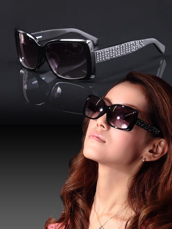 Backs Sunglass Ladies Gender Sunglasses Case Unisex Men's Ita Glitter Linestringritter Eyewear Glasses Black j54A3RL