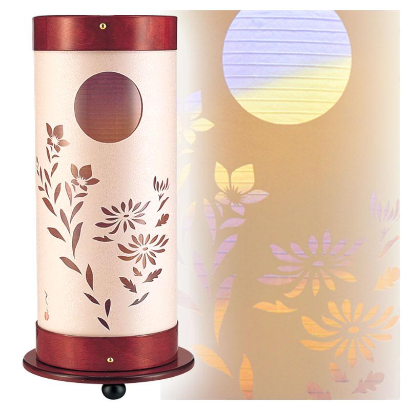 盆提灯 モダン 秀光月 ygc6111 '同時購入割引 盆提灯 一対 盆提灯 ミニ サイズ 盆提灯 スタンド ◆