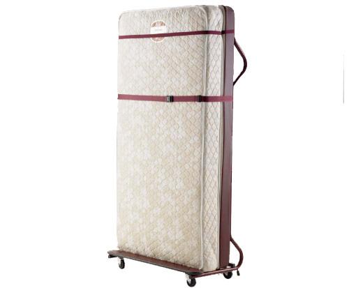世界のホテルで使われているエキストラベッド 補助ベッド をご家庭向けにも販売 シングルルームからツインルームへ 人気急上昇 注文後の変更キャンセル返品 ツインルームからトリプルルームへの転換が簡単に エキストラベッド キャスター付 マットレス+フレーム タテ型 セット 高級ホテルの補助ベッド