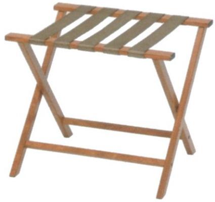 ウッドルック折り畳み式バゲージラック (背なし)