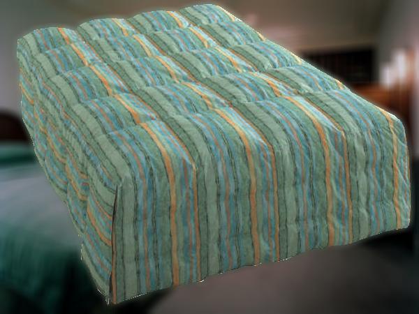 一流ホテル・高級旅館仕様の羽毛ベッドカバー(ベッドの周囲にも羽毛の入るボックス型) Q1ワイドダブルサイズ 快適安眠熟睡フンワリ お布団兼カバーなのでベッドメイキングも簡単です お持ちのベッドのサイズ(横幅 x 長さ x 高さ)に合わせて縫製!日本製です