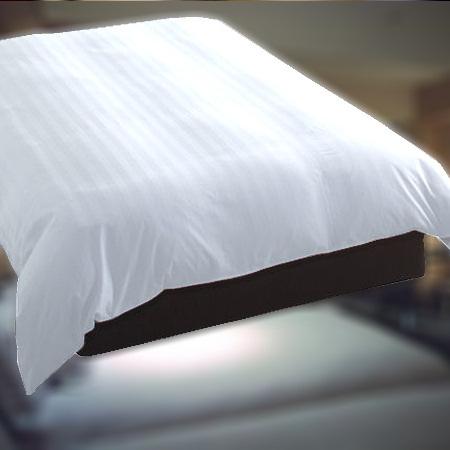 デュベ ホテル羽毛ベッドカバー(横入れ式) Q1(ワイドダブル)サイズ