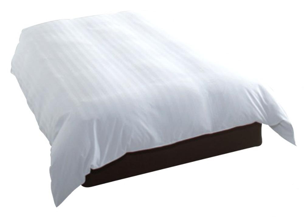 デュベ カバー ホテル羽毛ベッドカバー(横入れ式、羽毛インナーなしタイプ) D(ダブル)サイズ