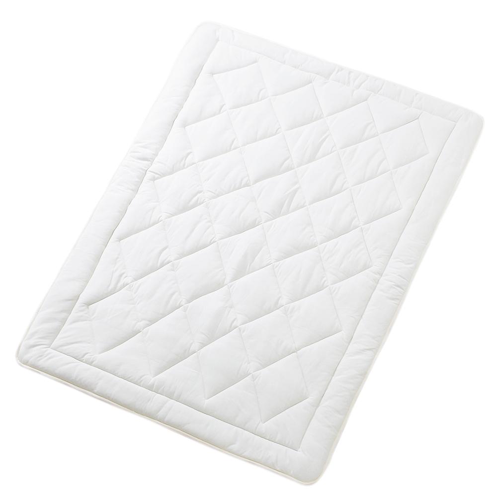 ベッドパッド キャメル100% クイーン 160x200cm 3.2kg 高級ホテル 綿100%