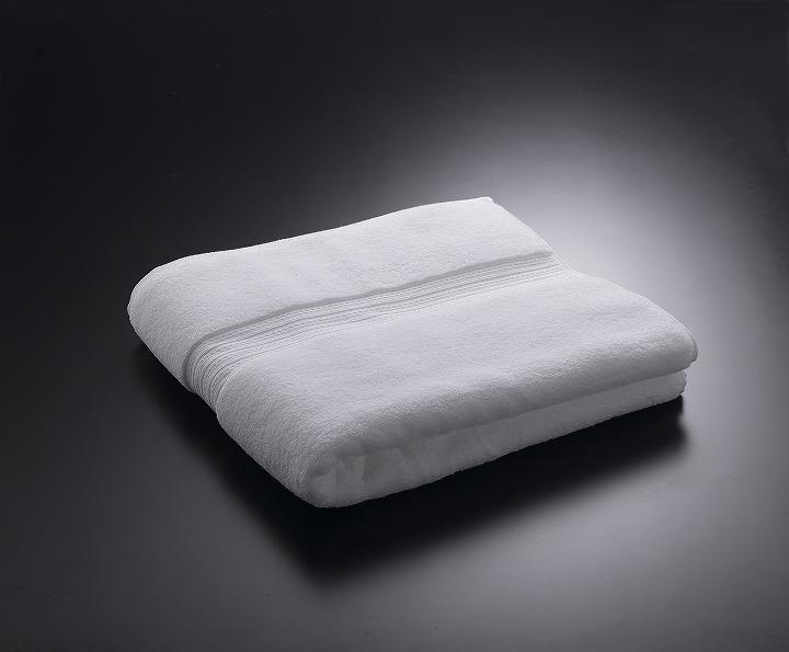バスタオル マイクロコットンプレミアム 76cm×137cm 高級ホテル 超長綿100 刺繍不可 ホワイト 白 送料無料