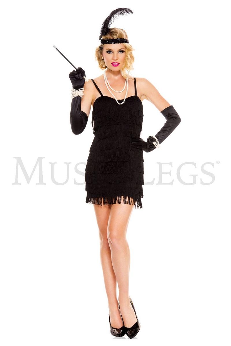【Music Legs】 70590 1920's Flaming Flapper ミュージックレッグス レディース 20年代フラッパー コスチューム