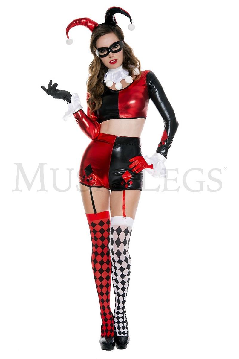 【Music Legs】 70623 Gorgeous Harlequin ミュージックレッグス レディース ゴージャス ハーレクイン コスチューム